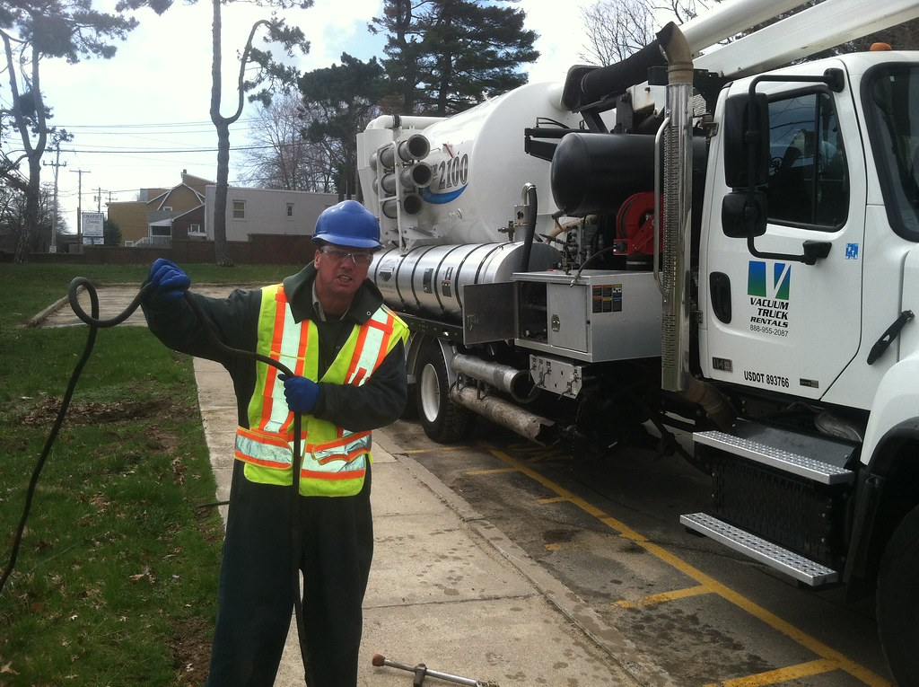 Vactor Service Job at the VA Hospital in West Haven CT - S