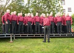 Conducting Rame Peninsula Male Voice Choir 3