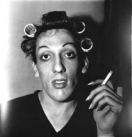 Diane Arbus | Young Man in Curlers | Jessica Epstein | Flickr