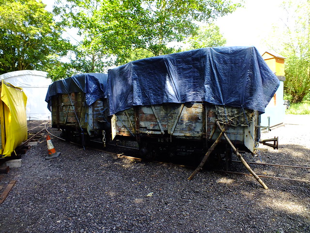2 foot 6in Covered vans, mostly built on old War Department wagon chassis's. Royal Gunpowder Mills