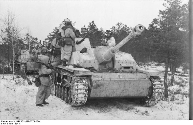 Even after Stalingrad , the Germans were far from beaten and had substantial forces intact.Eastern Frount 1943