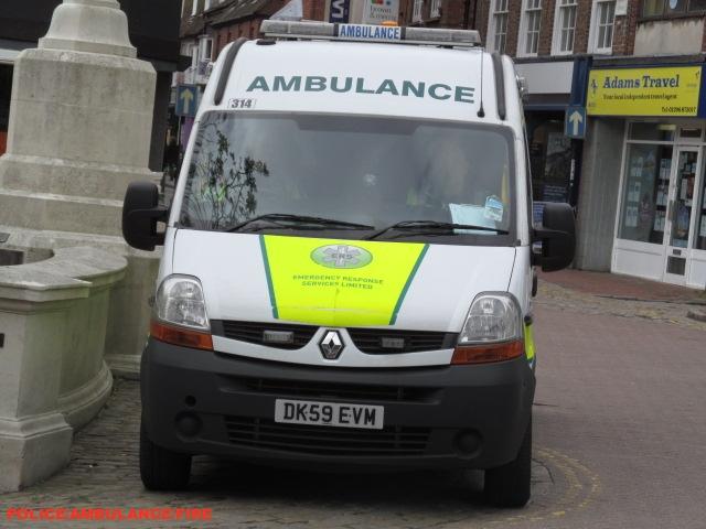 Emergency response systems limited-Renault master-emergency ambulance-DK59 EVM-314