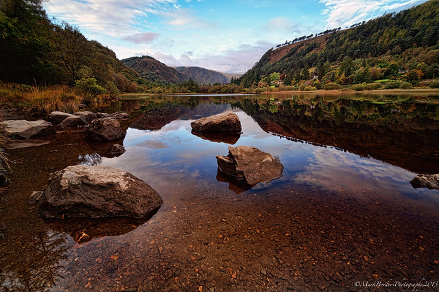 The Valley Of Two Lakes, Wicklow, Ireland.