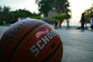 Basketball at the court (Spalding Official School) | by Abdullah Bin Sahl