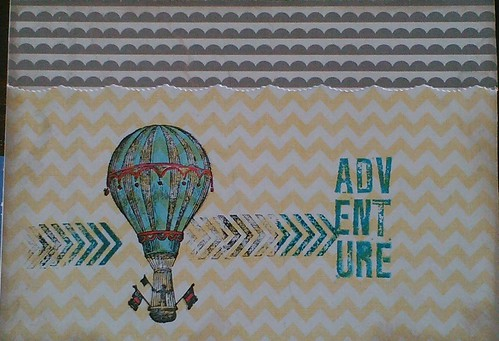 Balloon adventure greeting card | by JanCari
