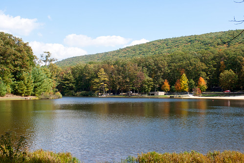 whipple dam state park pennsylvania parks autumn lake beach mountains forest visitpaparks