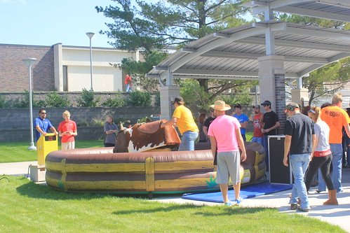 NECC Wacky Wednesday Bull Riding | by The Viewpoint
