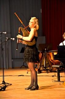 Lilla Brassbandfestivalen 2013 - Sanslöst säckpipespel!!