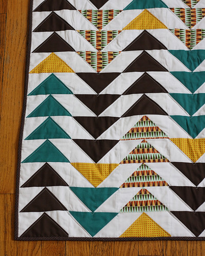Falling Geese Baby Quilt | by michaelannn