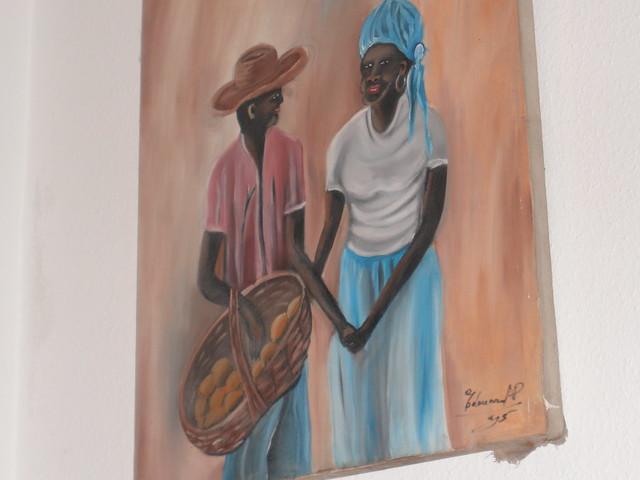 Besuch Dorit in Haiti 2008