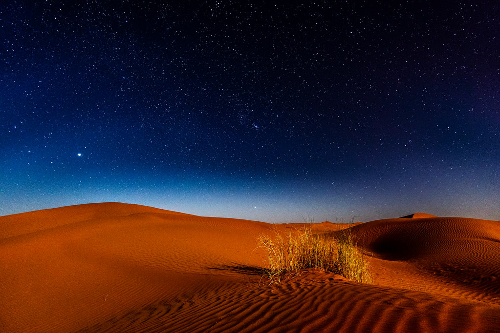 Night in the desert | Morocco, Sahara | Sergey Pesterev ...