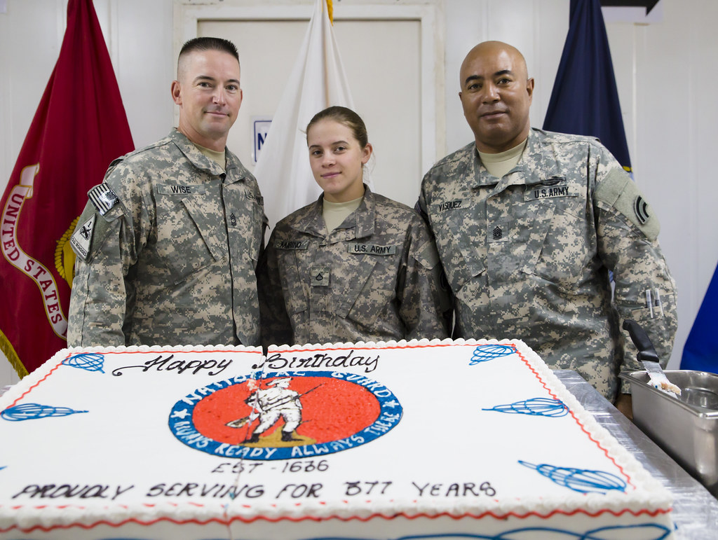 The 42nd Combat Aviation Brigade celebrates the ARNG's bir