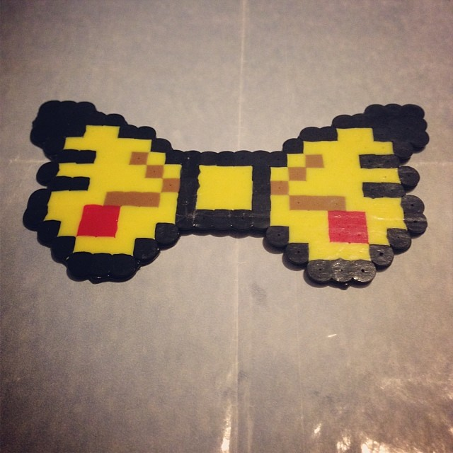pokemon #pikachu #perlerbeads #perler #beads #fuseart #fu
