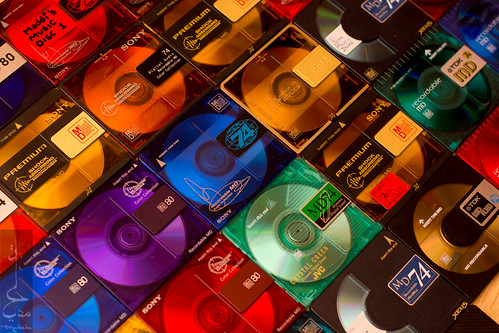 Minidiscs minidiscs everywhere! | by Madija~