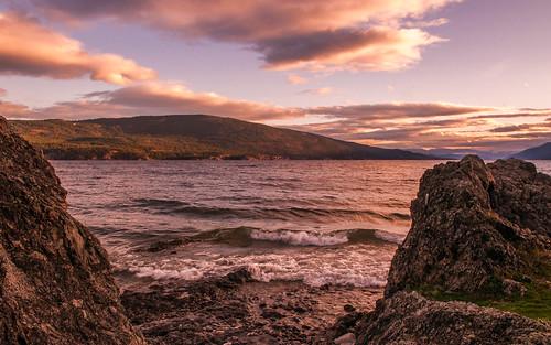 evely okanagan fall lake vernon britishcolumbia canada