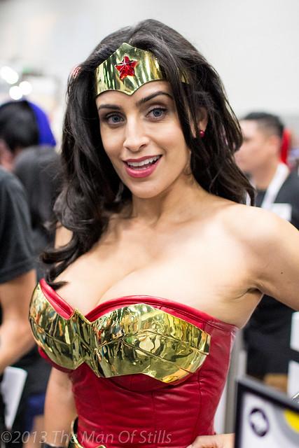 Valerie Perez as Wonder Woman