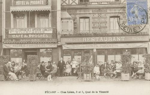 Fécamp: Chez Léon | by Simenon.com