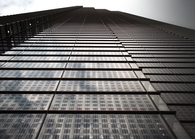 When The Lines Blur - Heron Tower London City Office Life by Simon Hadleigh-Sparks