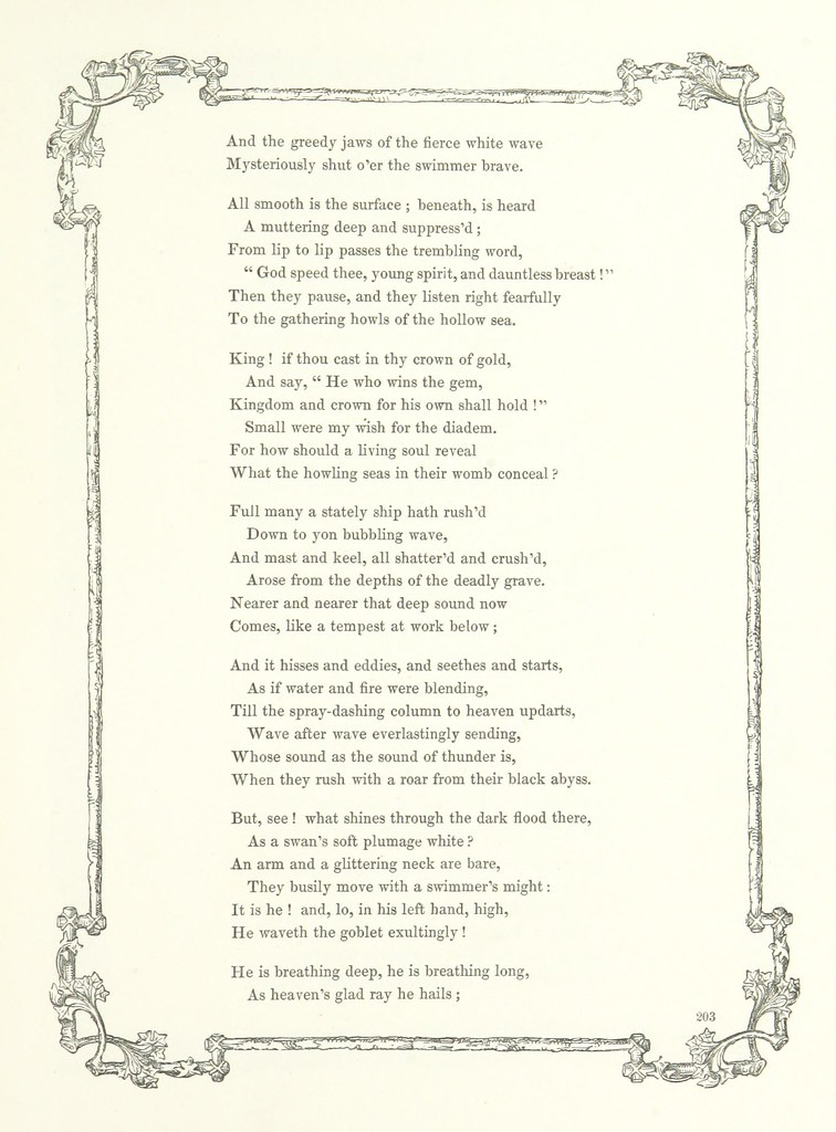 Image taken from page 219 of 'Poems and Pictures: a collec