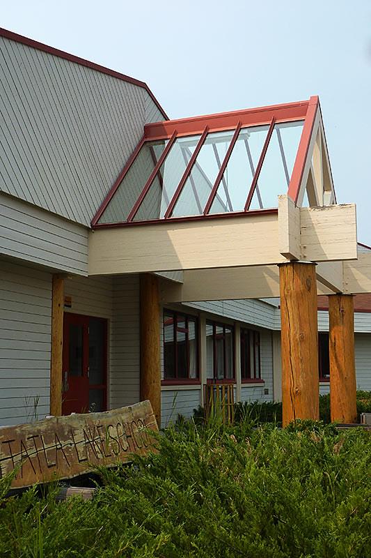 Tatla Lake School, Tatla Lake, Highway 20, Chilcotin, British Columbia