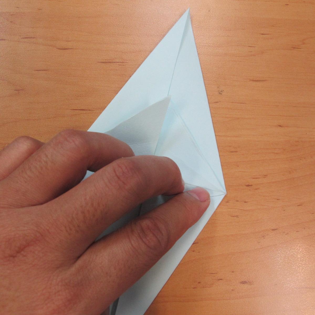 วิธีพับกระดาษเป็นรูปผีน้อย 007