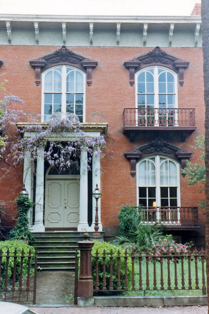 Mercer House Savannah Georgia The Mercer House A Longti Flickr