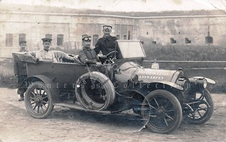 """Automobile of the """"Kaiserliche Fortifikation Antwerpen"""" - 1915"""