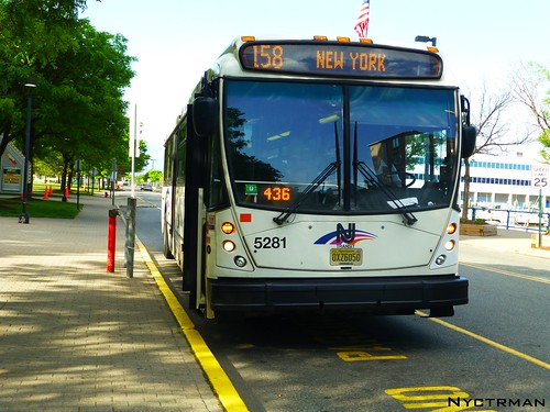 Nj Transit North American Bus Industry Nabi 5281on Rou