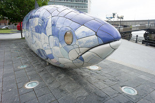 THE BIG FISH NEAR THE LAGAN WEIR IN BELFAST | by infomatique