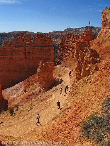 Navajo Trail from Sunset Point, Bryce Canyon National Park, Utah