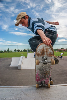 Skateboarder | by alan-evans
