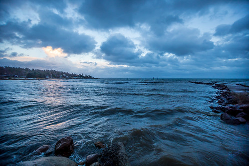 blue sea seascape norway clouds perfect dramatic windy windsurfing fjord bluehour drama cloudporn oslofjorden tønsberg hav blåtimen vestfold visitnorway skallevoll brettseiling skallevold bestofnorway wiindy normannphotography
