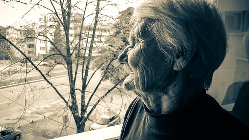 camera old grandma portrait blackandwhite bw window face mobile lens nokia eyes phone grandmother smartphone elderly granny carlzeiss windowsphone lumia lumia920 marjanlazarevski mobilemobilephotography