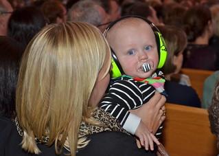 Brassbandfestivalen 2013 - Amandus lyssnar på brassmusik! (Foto: Olof Forsberg)