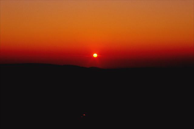 kettleshulme sunset