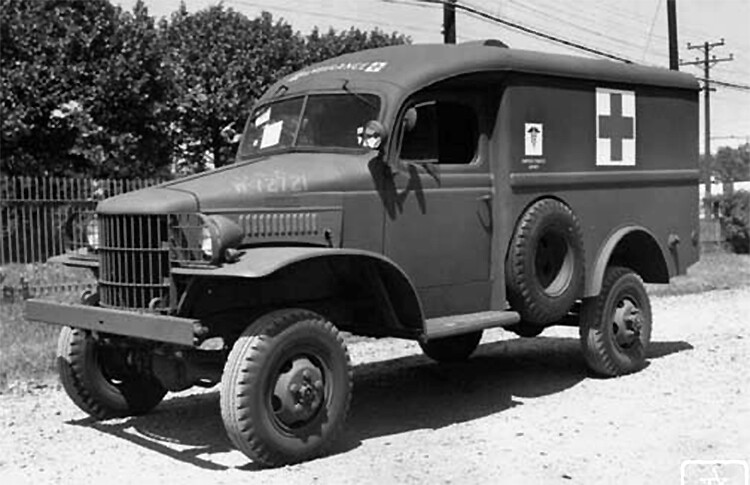 Dodge WC9 1/2 ton ambulance