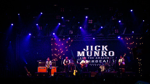 Jick Munro, First Performer In The Tent