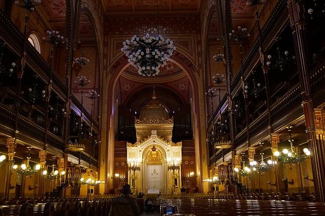 Budapest. Grandiosa Sinagoga Judía