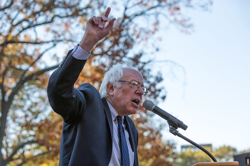 Senator Bernie Sanders, Day of Action People's Rally, Washington DC | by Lorie Shaull