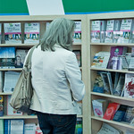 Books Words Ideas: The City of Literature info stand |