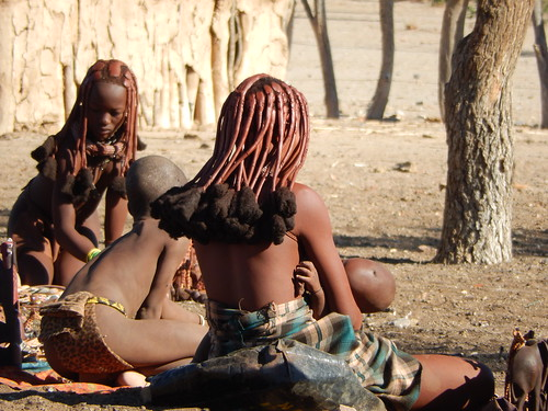 Opuwo - himba dorp 6