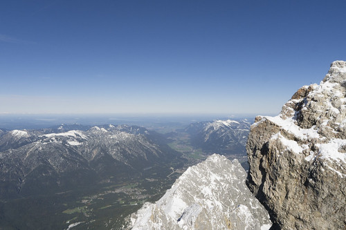 München from the Zugspitze | by Tucpasquic