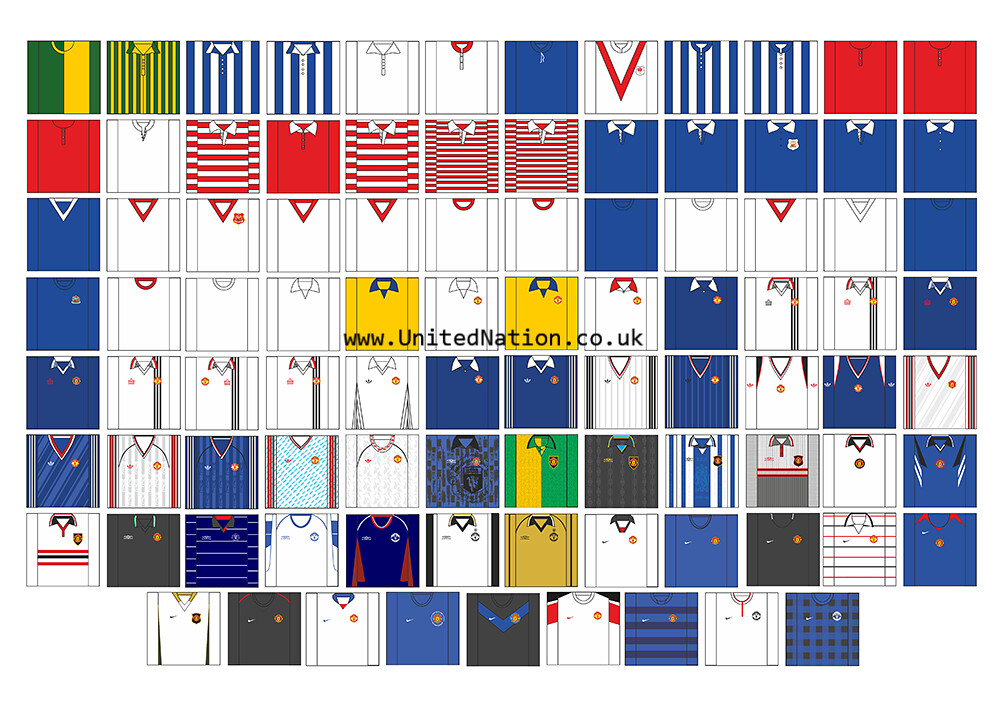 712f776b4 ... The history of the Manchester United away shirt