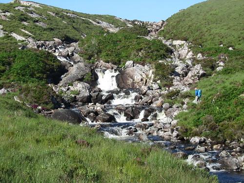 Stream crossing near Rhiconich | by Guy R