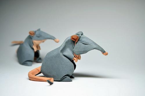 Origami Rats   by ORI_Q