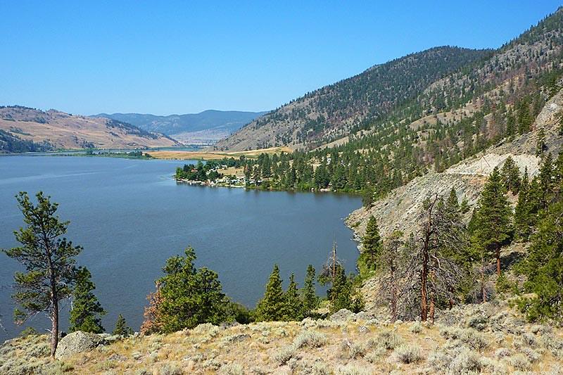 Nicola Lake, Nicola Valley, Thompson Okanagan, British Columbia, Canada
