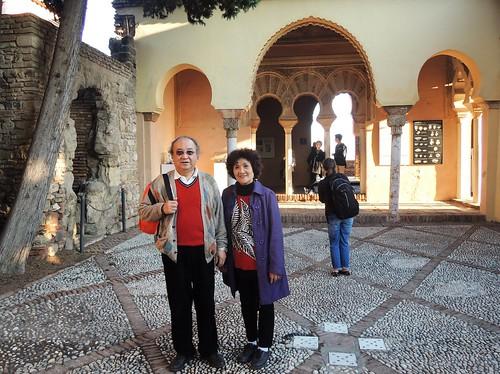 alcazaba patio, Malaga, Spain | by Impulse Traveler