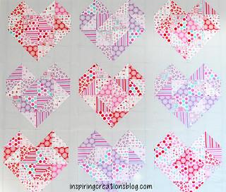 Lovey Dovey Heart Blocks