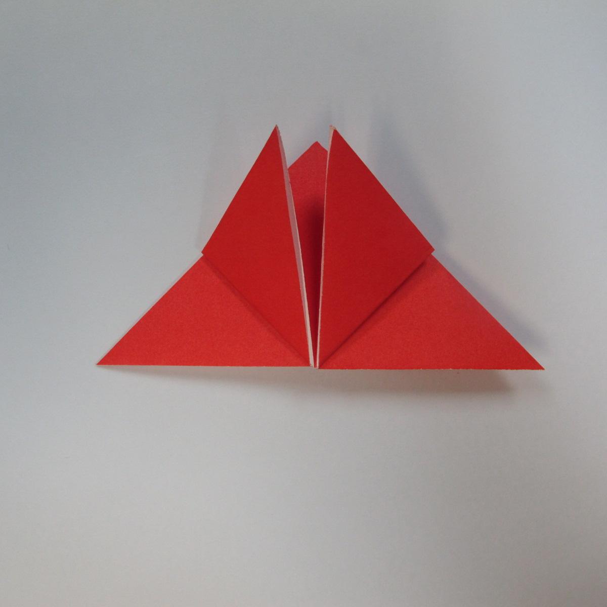 วิธีการพับกระดาษเป็นดาวหกแฉกแบบโมดูล่า 005