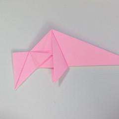 สอนการพับกระดาษเป็นลูกสุนัขชเนาเซอร์ (Origami Schnauzer Puppy) 044